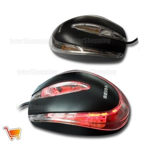 MOUSE OPTICO 3D USB 2.0 CON CABLE SM-814