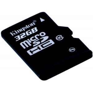 MEMORIA MICRO SD 32GB CLASE 10 KINGSTON ORIGINAL BLISTER