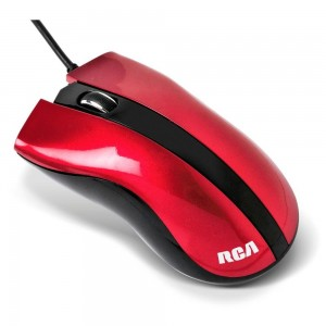 MOUSE OPTICO RCA MO 304R RED