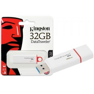 PENDRIVE KINGSTON DTi G4 32GB USB 3.0 2.0