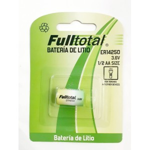Bateria ER-14250 FULL  TOTAL litio 3.6v
