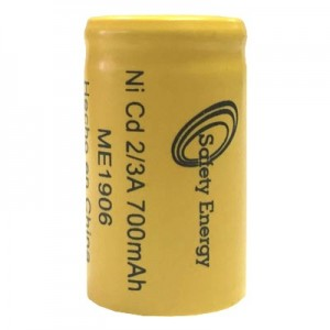 PILA 2/3A700 2/3 A SAFETY ENERGY NI-CD