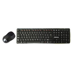 teclado we-1013  combo con mouse full total